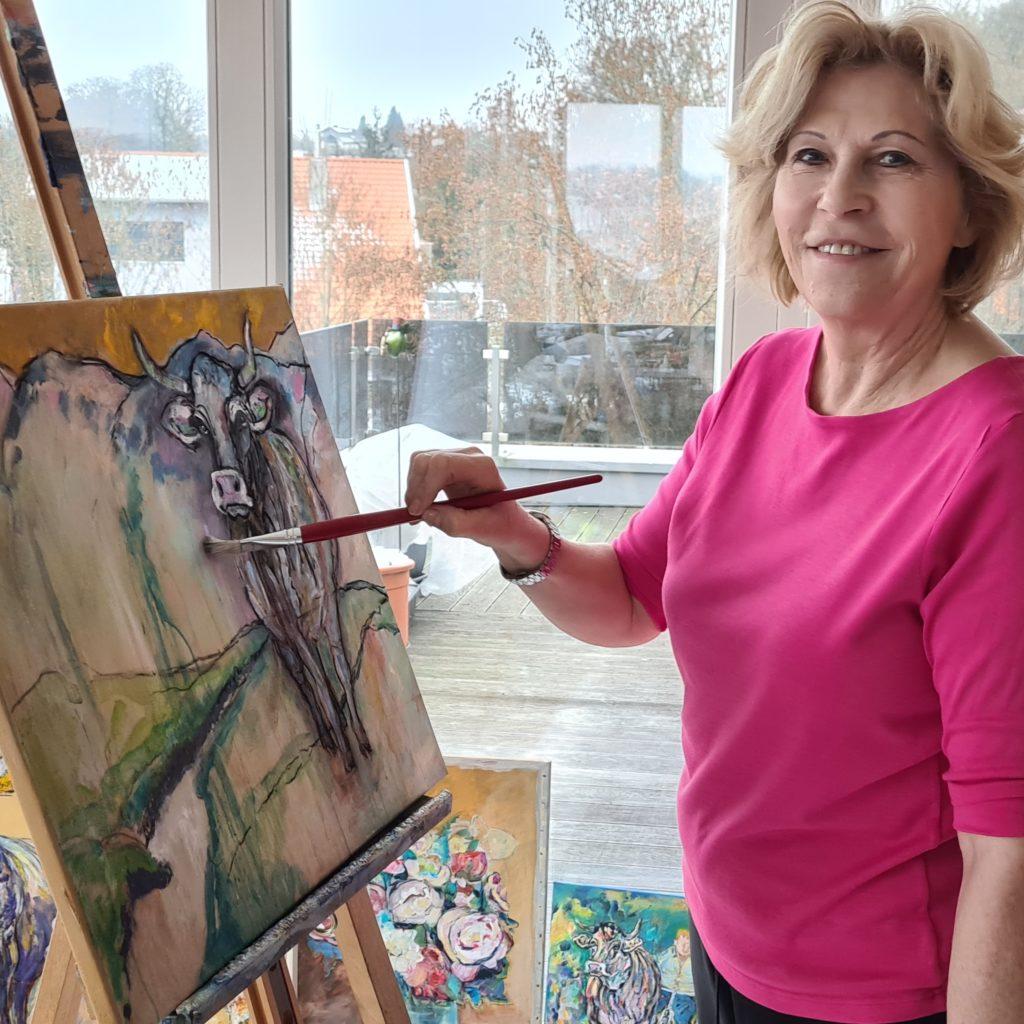 Gabriele Römer ist eine der Teilnehmerinnen des Kunstprojekts #kuico.